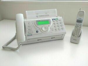 Sharp UX-CD600 2-Line Plain paper Fax Machine & copier & Corded & Cordless Phone