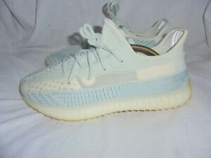 ADIDAS YEEZY 350 MEN SKY BLUE SYNTHETIC LACE UP TRAINERS SIZE UK10.5 EU 45.5 VGC