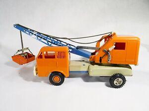 GAMA 280 Camion grue moteur à friction en métal et plastique 30 cm