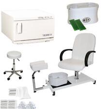 Pedicure Chair Hot Towel Warmer Sterilizer Paraffin Wax Salon Beauty Equipment