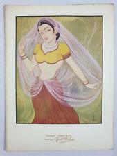 India 50's UNUSED Greeting Card with Mounted Illustration by SRINIVAS (7)