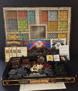 Hero Quest Board Game MB 4271 SK