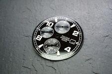 Reloj Pulsar Cronógrafo Dial - 100m Negro y Plateado Grande #12