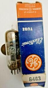 6463 NOS vacuum tube GE dual triode (ECC86)