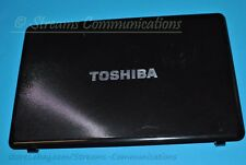 """TOSHIBA Satellite A665 A665D-S6091 16"""" Laptop LCD Back Cover (Rear Lid) Black"""