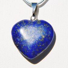 "Perfect Pendant™ - Lapis Lazuli Heart Pendant + 20"" Chain by ZENERGY GEMS™"