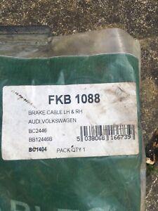 FKB 1088 Vw passat 88-93 LH/RH handbrake cable