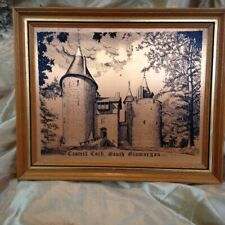 Copper Plate Picture of Castell Coch South Glamorgan