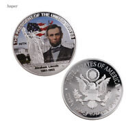 The Great President of United States American Silver Coin US 16th President Coin