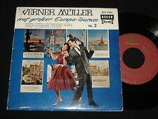 WERNER MULLER EP ~ AUF GROSSER EUROPA TOURNEE  #1 1960s teen pop