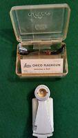 E. LEITZ CHICO Camera FLASH GUN w/Cable Original Box and Instructions VINTAGE