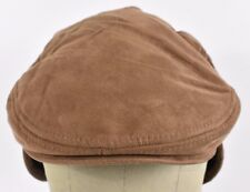 a392dc9ea84 Brown Scala Dorfman Pacific Co Flat News Boy Paper Boy Cabby hat cap Fitted