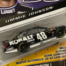 NASCAR AUTHENTICS NEW 6TH GENERATION CAR 1/64 #48 JIMMIE JOHNSON(169)