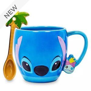 Disney Stitch Mug and Spoon Set