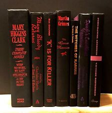 Decorative Books~Instant Library~Lot of  7~Black Spines