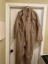 USAF Flight Suit Coveralls Flyer Size 50 CWU-27/P Desert Tan