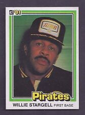 1981 Donruss #132 Willie Stargell Pittsburgh Pirates EX-MT