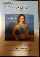 Physique 57 Express Full Body Workout DVD 30 Minutes Fitness Exercise Dance