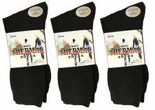 Wool Patternless Multipack Socks for Men