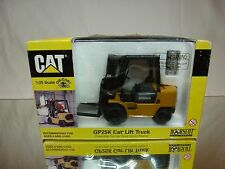 NORSCOT 55071 CATERPILLAR CAT GP25K LIFT TRUCK - MUSTARD 1:25 - GOOD IN BOX
