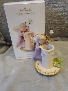 Hallmark Keepsake Christmas Ornament Let It Shine angel/fairy with candle
