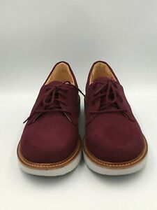 "Samuel Hubbard Women's 8.5M ""Hubbard Free"" Casual Walking Shoe Plum Nubuck 2030"