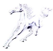 Tono de plata galope caballo / pony broche, cuento de hadas joyas de moda