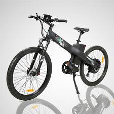48v1000w Electric Bike Mountain Bicycle E City Black w/ Throttle&Pedal Assist