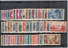 FRANCE STAMP ANNEE COMPLETE 1938  NEUVE xx TB / TTB , 52 TIMBRES VALEUR : 744€