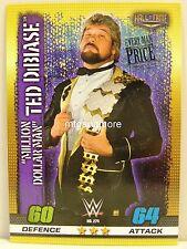 """Slam Attax - #274 """"millón de dólares Man"""" Ted DiBiase - 10th Edition"""
