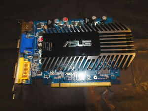 ASUS 8400GS Silent 512mb DDR2 Video Card with TV out.