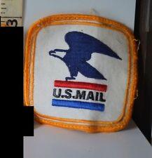 "1 US Mail Postal Sew On Eagle Patch Size 3"" x 3""  Vintage mailman patch"