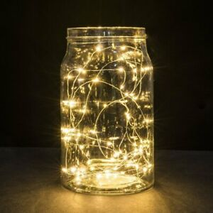 2 Pcs - 3 Meters - LED Fairy Light / Warm White (Batteries Included)