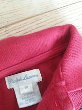 Ralph Lauren body t shirt rossa bimbo 3 mesi