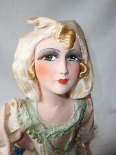 Poupée de salon parisienne boudoir Doll poupée des années 20