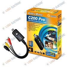 BOX SCHEDA ACQUISIZIONE VIDEO COMPRO C200 PRO USB 2.0 WINDOWS XP, WIN7, WIN8