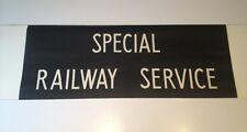 "Routemaster Linen Bus Blind 1083 36""- Special Railway Service"