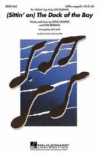Sittin On The Dock Of The Bay SATB Vocal Choral Learn Sing Pop Music Book