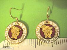 Minerva automobile emblem - earrings, ear rings  GIFT BOXED