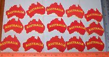 LOT 15 Foam Self-Adhesive AUSTRALIA Country Shapes