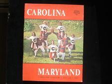 October 28, 1967 South Carolina vs. University of Maryland Football Program EX+