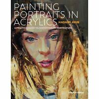 Painting Portraits in Acrylics by Hashim Akib