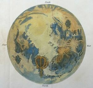 [Anonymous] Telescopic appearance of the Moon [George Virtue, London: 1823]