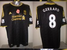 Liverpool GERRARD Poppy Jersey Shirt Adult M LA Galaxy Soccer Football Adidas