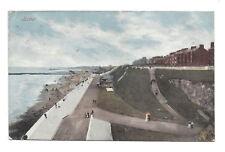 Vintage postcard Roker - general view of promenade, Sunderland. pmk 1904