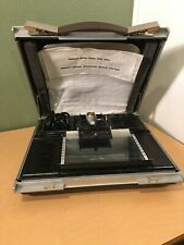 Informant Portable Microfilm Microfiche Projector/Reader Briefcase