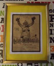 Old Advertising Print on Gibbs 1917 Toothpaste. Trench War titled Gibbs Victory