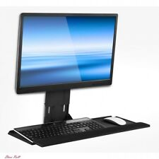 Wall Mount Monitor Mounted Computer Keyboard Adjustable Stand Accessories New