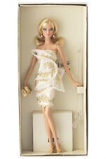 Brand New Platinum label Glimmer of Gold Barbie Doll Excellent condition/NRFB