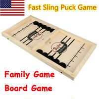 Fast Sling Puck Game Paced SlingPuck Winner Board Family Games Toys Juego kids
